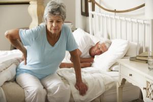 Rückenschmerzen durch falsche Matratze?