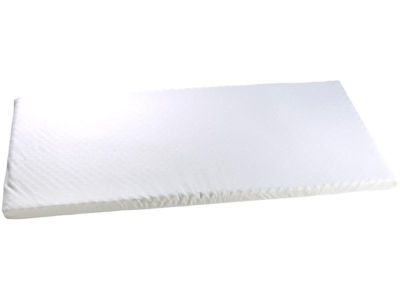 besser schlafen mit der matratzenauflage aus thermoaktivem memory foam. Black Bedroom Furniture Sets. Home Design Ideas