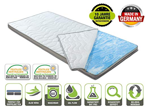No Name BMM Gel-Schaum Topper Matratzenauflage