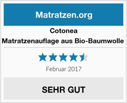 Cotonea Matratzenauflage aus Bio-Baumwolle  Test