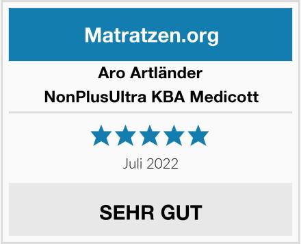 Aro Artländer NonPlusUltra KBA Medicott Test