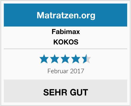FabiMax KOKOS Test