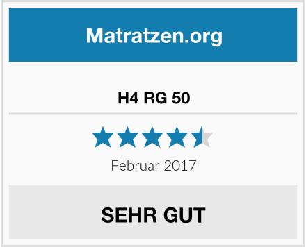 Ravensberger Matratzen H4 RG 50 Test