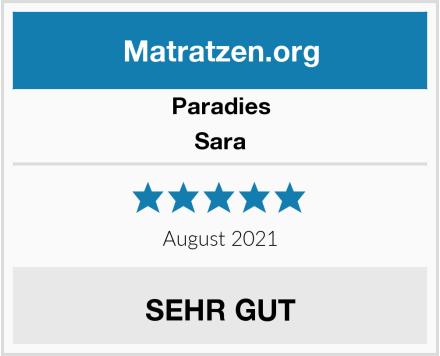 Paradies Sara Test