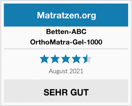 Betten-ABC OrthoMatra-Gel-1000 Test