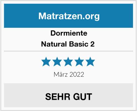 Dormiente Natural Basic 2  Test