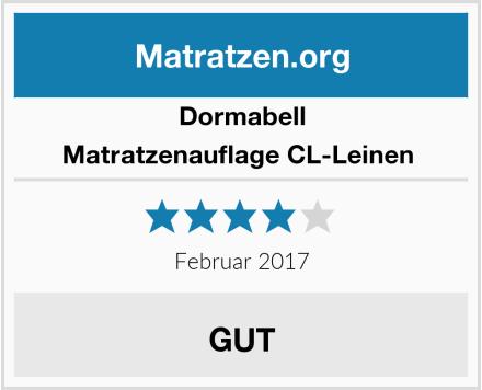 Dormabell Matratzenauflage CL-Leinen  Test