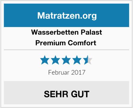 Wasserbetten Palast Premium Comfort  Test