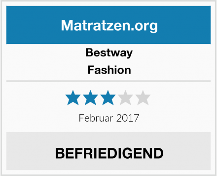 Bestway Fashion Test