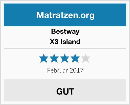 Bestway X3 Island Test