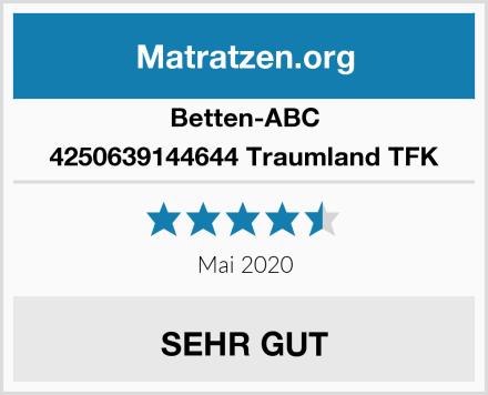 Betten-ABC 4250639144644 Traumland TFK Test