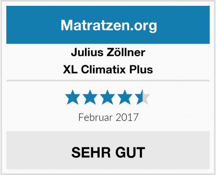 Julius Zöllner  XL Climatix Plus Test