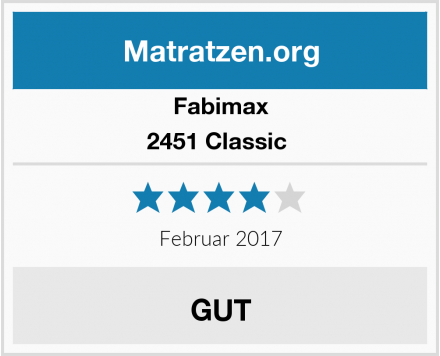 Fabimax 2451 Classic  Test