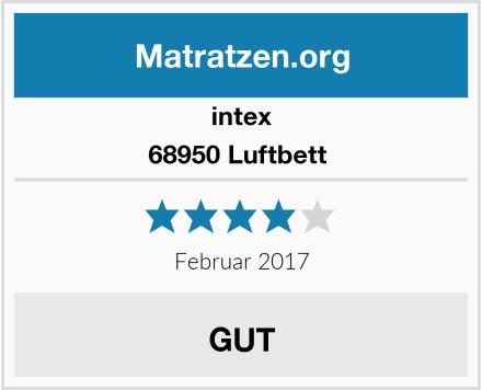 intex 68950 Luftbett  Test