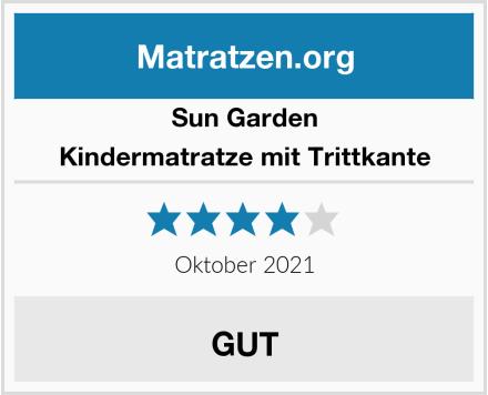 Sun Garden Kindermatratze mit Trittkante Test