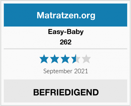 Easy-Baby 262 Test