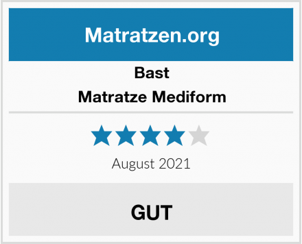 Bast Matratze Mediform Test