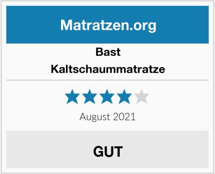 Bast Kaltschaummatratze Test