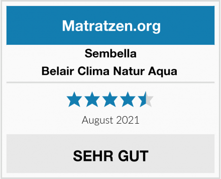 Sembella Belair Clima Natur Aqua  Test