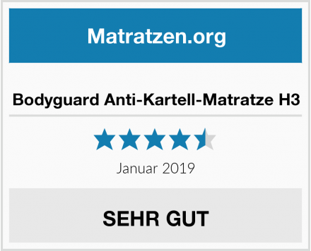bett1 Bodyguard Anti-Kartell-Matratze H3 Test