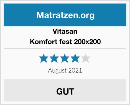 Vitasan Komfort fest 200x200 Test