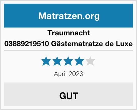 Traumnacht 03889219510 Gästematratze de Luxe Test