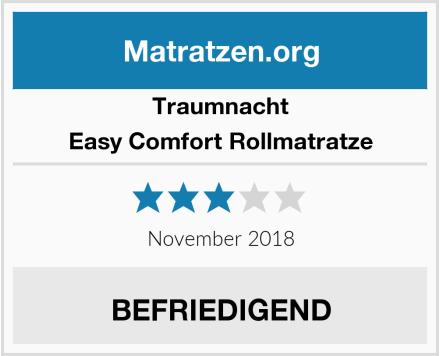 Traumnacht Easy Comfort Rollmatratze Test