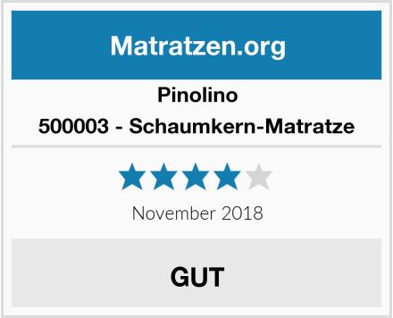 Pinolino 500003 - Schaumkern-Matratze Test