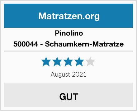 Pinolino 500044 - Schaumkern-Matratze Test