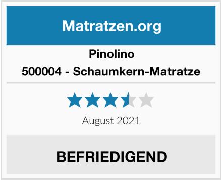 Pinolino 500004 - Schaumkern-Matratze Test