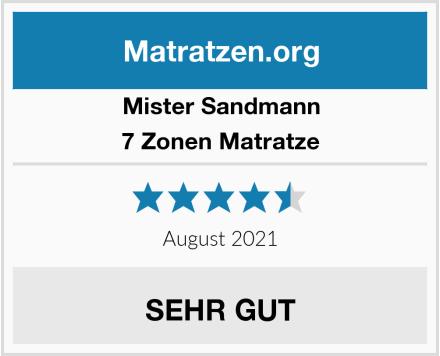 Mister Sandmann 7 Zonen Matratze Test