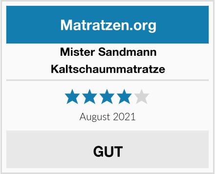 Mister Sandmann Kaltschaummatratze Test