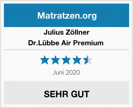 Julius Zöllner Dr.Lübbe Air Premium  Test