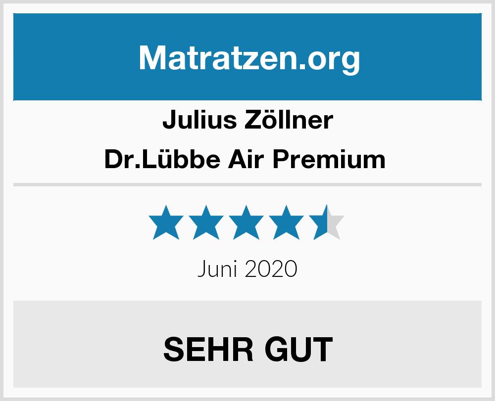 Julius Zöllner Drlübbe Air Premium Matratzen Test 2019