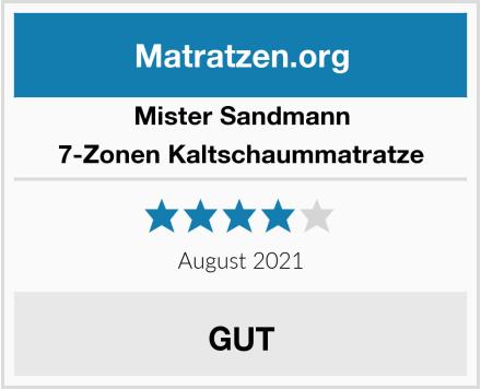 Mister Sandmann 7-Zonen Kaltschaummatratze Test