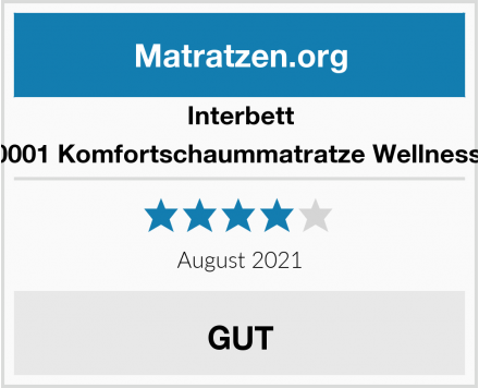Interbett M120001 Komfortschaummatratze Wellness XXL Test