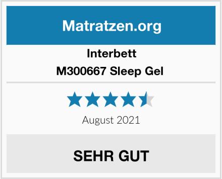 Interbett M300667 Sleep Gel  Test