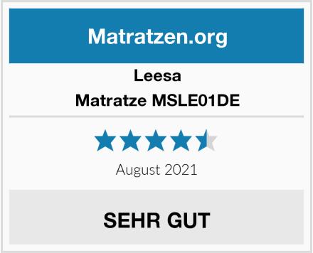 leesa Matratze MSLE01DE Test