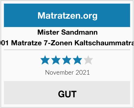 Mister Sandmann A0001 Matratze 7-Zonen Kaltschaummatratze Test