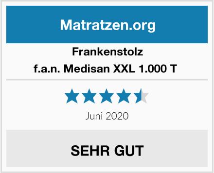 Frankenstolz f.a.n. Medisan XXL 1.000 T  Test
