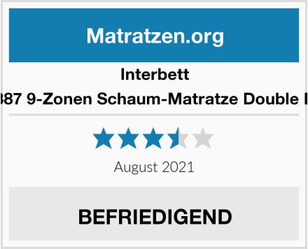 Interbett M300387 9-Zonen Schaum-Matratze Double Deluxe Test