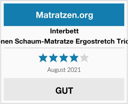 Interbett 7-Zonen Schaum-Matratze Ergostretch Trio KS  Test