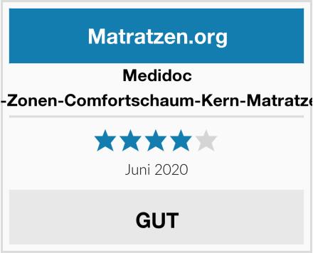 Medidoc 7-Zonen-Comfortschaum-Kern-Matratze  Test