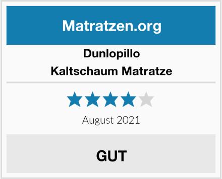 Dunlopillo Kaltschaum Matratze Test