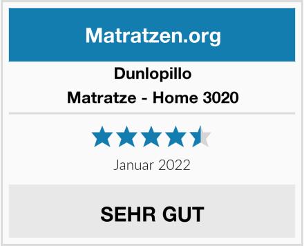 Dunlopillo Matratze - Home 3020 Test