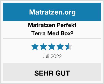 Matratzen Perfekt Terra Med Box² Test