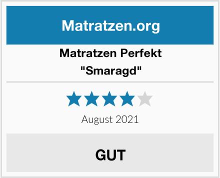 "Matratzen Perfekt ""Smaragd"" Test"