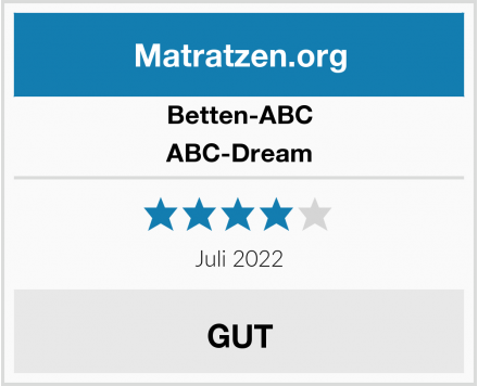 Betten-ABC Orthopädische Kaltschaummatratze Test