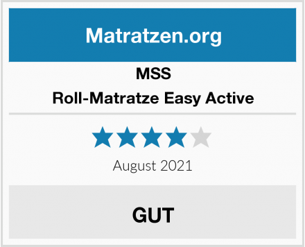 MSS  Roll-Matratze Easy Active Test
