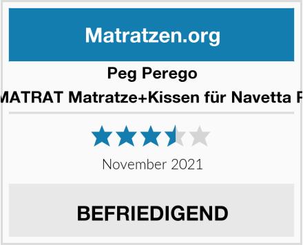Peg Perego  Y5WAMATRAT Matratze+Kissen für Navetta Pop-Up Test